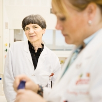 Portrait of research scientists - Click to see full photograph